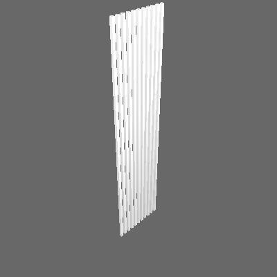 DIVISÓRIA RIPADO BRANCO 63X3X270cm