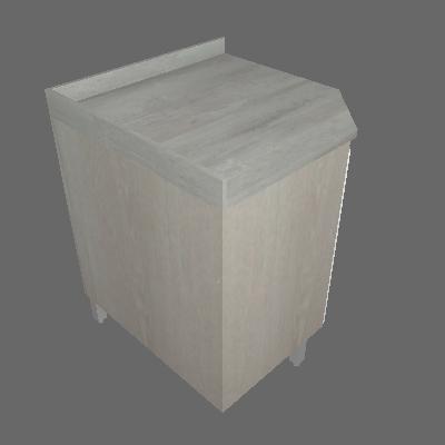 Balcão Canto Diagonal 760mm 1 Porta (626)