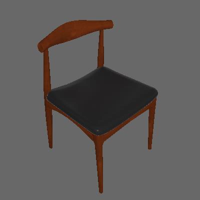 Cadeira de Cozinha Carina Estofada Marrom