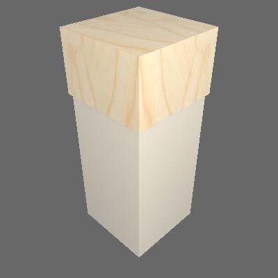 Comptoir Menuisé Angle (CMA.MOD)