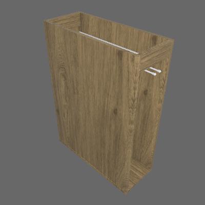 Balcão Porta Toalha 200 mm (C415)