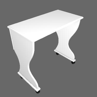 Escrivaninha Satu Branco - DallaCosta