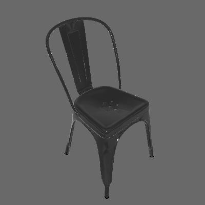 Cadeira Iron Preta - Rivatti