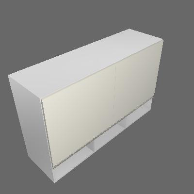 Armário 1200mm Nicho 2 Portas (3533)