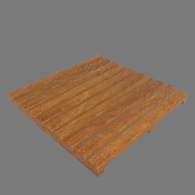 Mini Deck Modular de Madeira Ipê/Champanhe 50x50cm Keywoods (89267710)