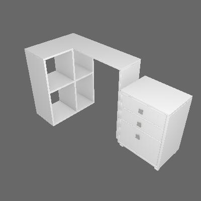 Escritório Decorado Porto Branco - BRV Móveis