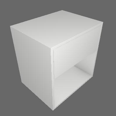 Mesa de Cabeceira II Vedere 1 GV Branca - Vedere