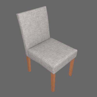 Conjunto com 6 Cadeiras de Jantar Dora II Mescla e Castanho - Mobly