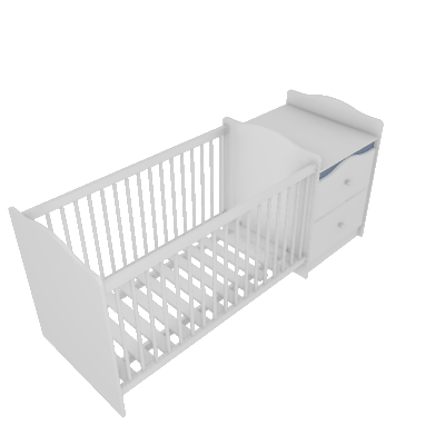 Asti Crib with Chest (160344)