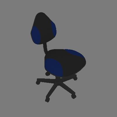Cadeira de Escritório Verona Giratória Azul - Absolut
