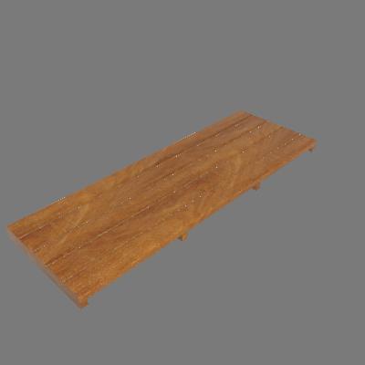 Régua de Deck de Madeira Ipê/Champanhe 100x35cm Keywoods (89267724)