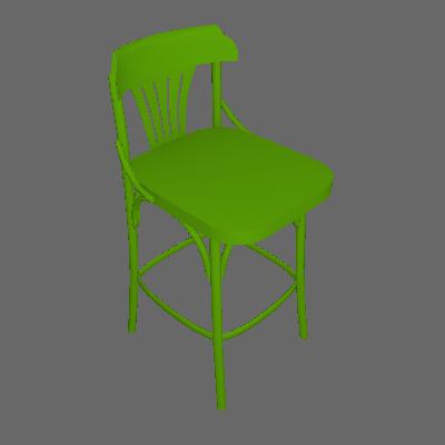 Banqueta Opzione Verde Limão - Maxima