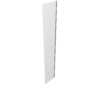 Porta Dobradiça Branca 40cm Prime Luciane (89596010)