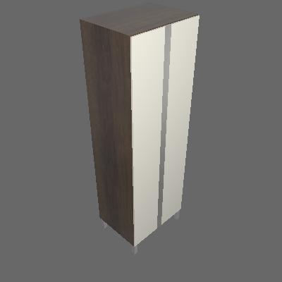 Torre Cristaleira 700mm 2 Portas (3685)