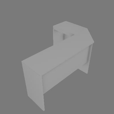 Mesa de Canto Rakaposhi Branco - BRV Móveis