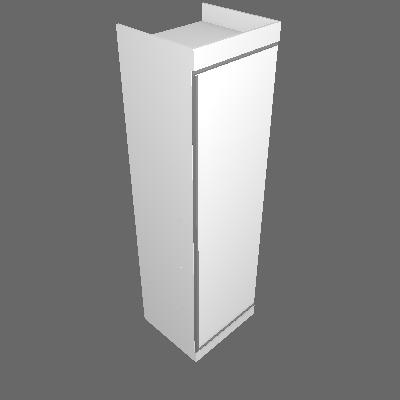 Sapateira Esmeralda 1 PT Branca - Gelius Móveis