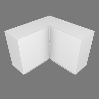Aéreo de Canto 90° com 02 Portas (P441)