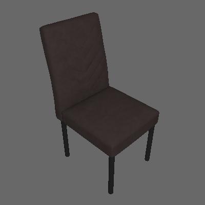 Conjunto com 2 Cadeiras de Jantar Pitty Veludo Grafite - Mobly