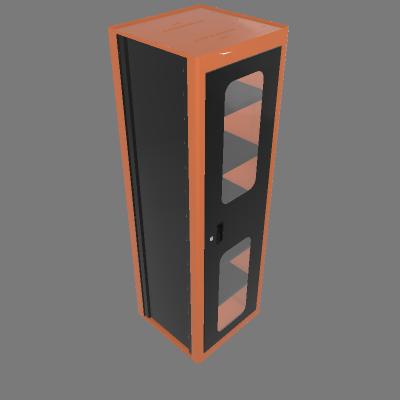 Armário vertical com visores (44955/022)