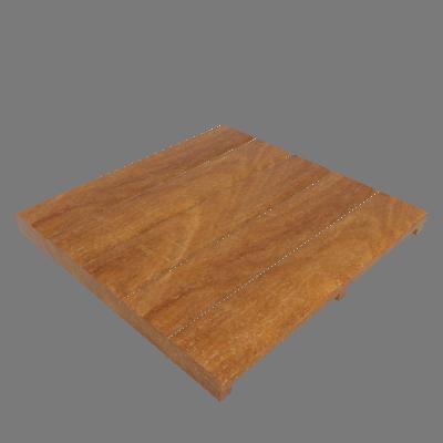 Mini Deck Modular de Madeira Ipê/Champanhe 50x50cm Keywoods (89267682)