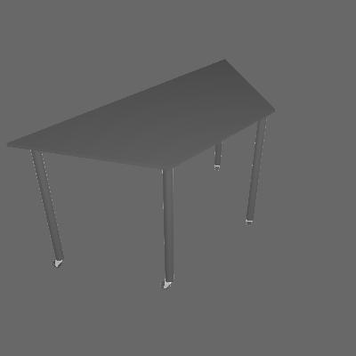 Mesa Trapézio