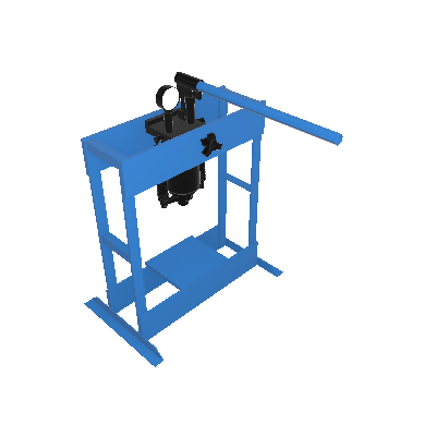 Prensa Hidráulica (MPH-10)