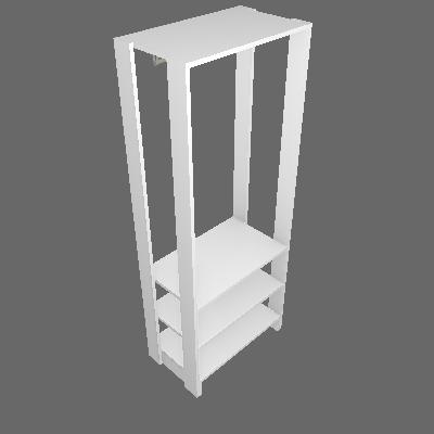 Guarda-Roupa Closet Modulado Yes II Branco - Nova Móbile