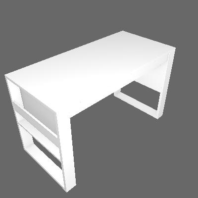 Escrivaninha Cork Branca - Tecnomobili