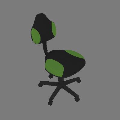 Cadeira de Escritório Secretária Giratória Verona Verde Claro - Absolut