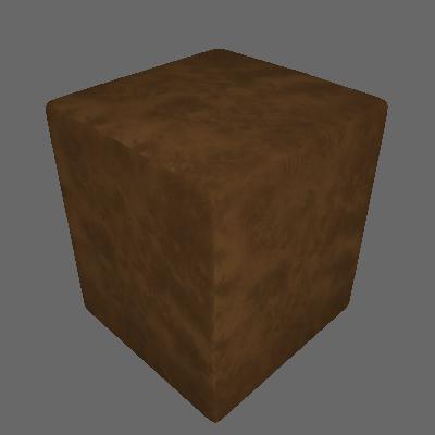 Puff Quadrado Box Suede Marrom - Absolut