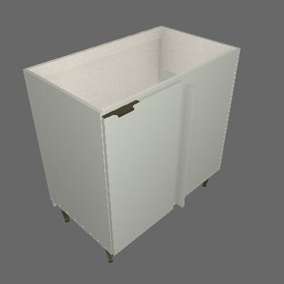 Balcão Canto Reto 01 Porta (C562)