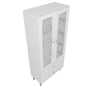 Cristaleira Liz 02 Portas (C230)