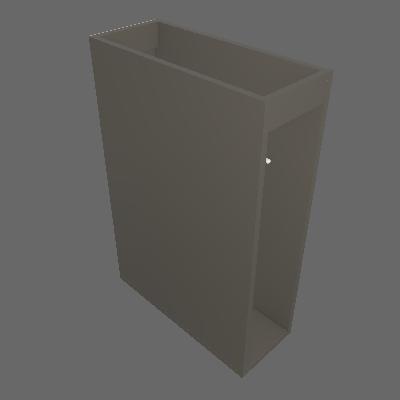Balcão Porta Tolha 200 mm (C615)