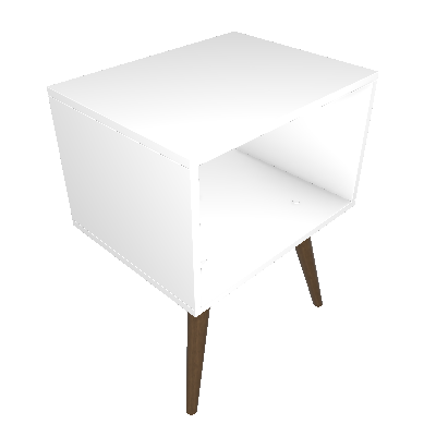Criado-Mudo Anubis Inova Branco - BE Mobiliário Inteligente