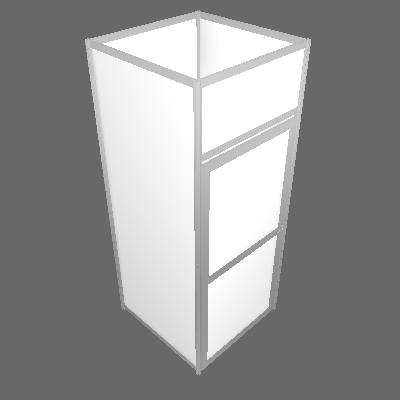 Réserve de 1 m² - Central (R1M²-BLANC)