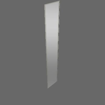 Porta Individual Espelho 396mm (P40)