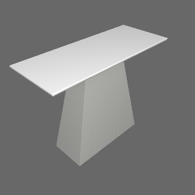 Aparador Pampulha Serigrafado Branco - Leifer