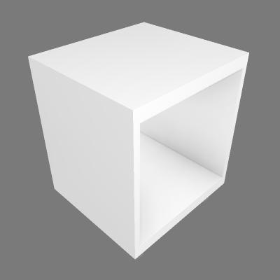 Nicho com Rodas 43.5x40cm (89690643)