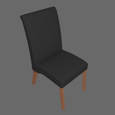 Conjunto com 6 Cadeiras de Jantar Judite Preto e Imbuia - Mobly