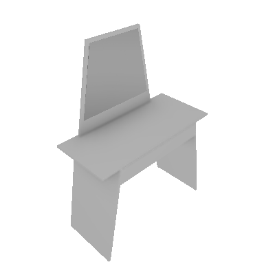 Penteadeira Small II Branca - Tecno Mobili