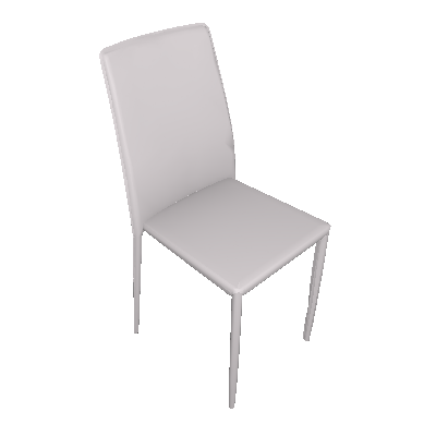 Cadeira de Jantar Amanda Nude - Rivatti