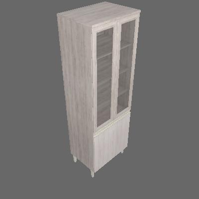 Paneleiro 4 Portas 70cm com Vidro (4873)