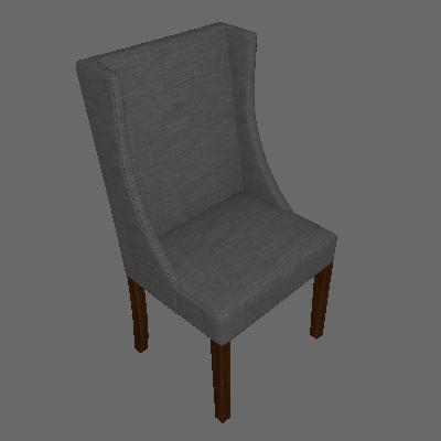 Cadeira Sinar Linho Cinza - Mobly