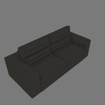 Sofá 3 Lugares Retrátil e Reclinável Supreme Velosuede Cinza escuro - Mobly