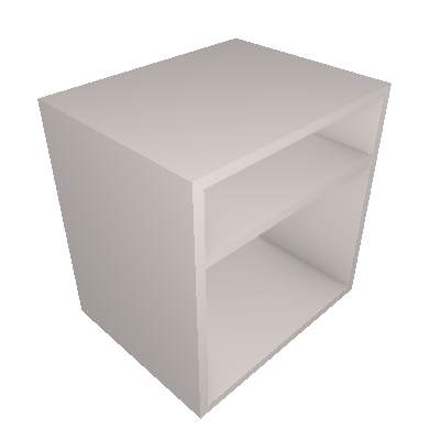 Mesa de Cabeceira Vedere Off White - Vedere