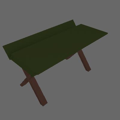 Escrivaninha Studio Cacau Verde Musgo - Maxima