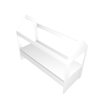 Cama Infantil Casinha III Branco