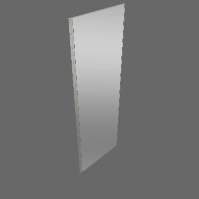 Porta Individual Deslizante Espelho 797mm (F80)
