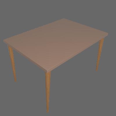 Mesa de Jantar Retangular Cripa Fendy 120cm - Daf