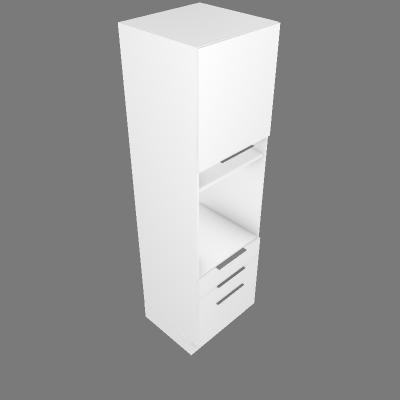 Coluna Forno 1 Porta 3 Gavetas 60cm (G23555)